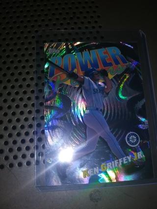 2000 Topps Power Players #P2 Ken Griffey Jr. Baseball Card