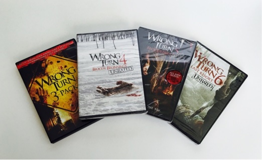 Free: ☠‼️Wrong Turn 6-Movie Collection (DVD) ~ ULTIMATE 21