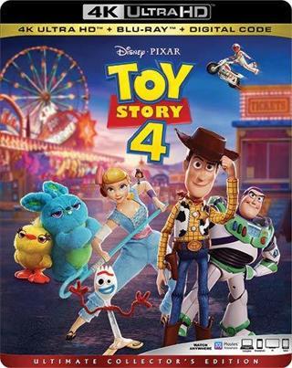Toy Story 4 (Digital HD 4K Download Code Only) **Tom Hanks** **Tim Allen**