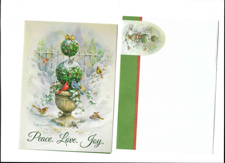 Christmas Card Unused With Envelope