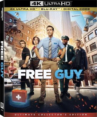 Free Guy (Digital 4K UHD Download Code Only) *Ryan Reynolds* *Taika Waititi* *Jodie Comer*