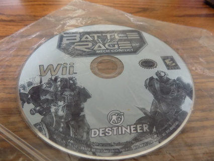 Battle Rage MECH Conflict Wii game