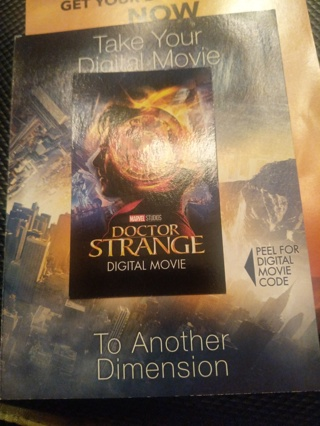 Doctor strange digital copy