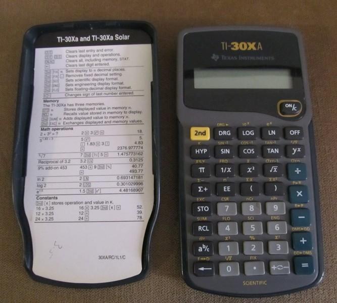 Free Ti 30xa Scientific Calculator Other Electronics Listia