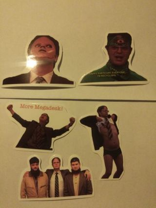 5 Dwight shrute. ( from the office)stickers. ***NEW LOWER PRICE***