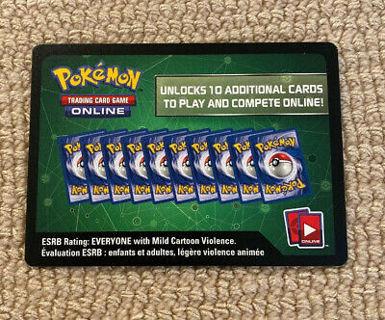 Pokemon Reward Card Code