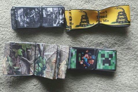 Set of 4 Ribbons