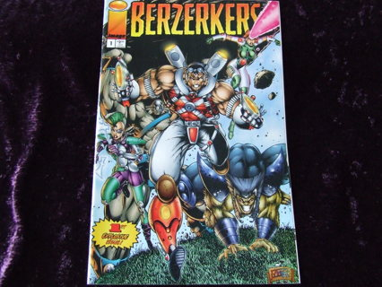1995 Berzerkers Issue #1 Image Mature Comics