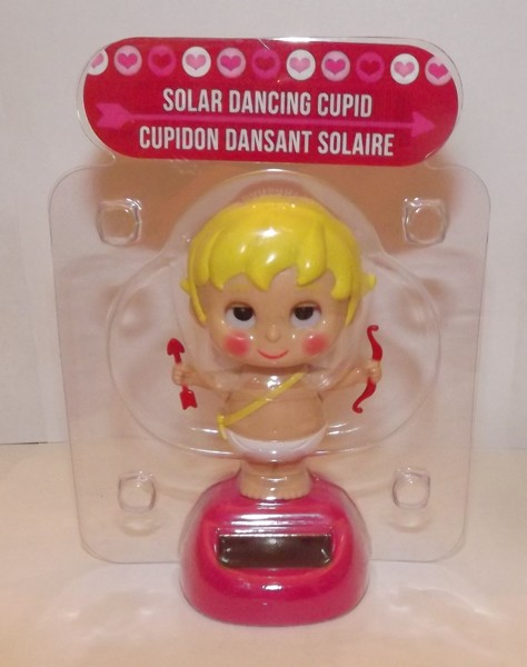 Solar Toys Valentine : Free solar powered dancing cupid new valentine s series