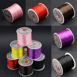 TN$$New 10M Strong Stretchy Elastic Thread Cord String Strand Beading For Craft 1mm