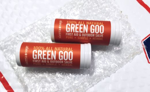 NEW TUBES SIERRA SAGE GREEN GOO OUTDOOR SALVE (QTY.2) FREE SHIPPING