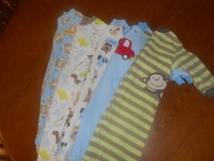 Sleepsack lot for baby boy!