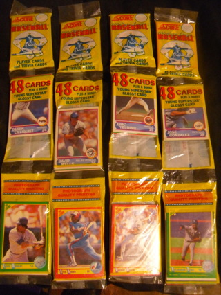 Flat Rate Envelope Baseball Packs & Pages