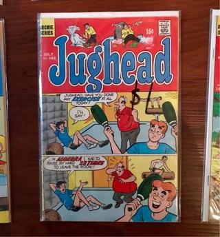 Jughead #182 15 cent Cover Silver Age