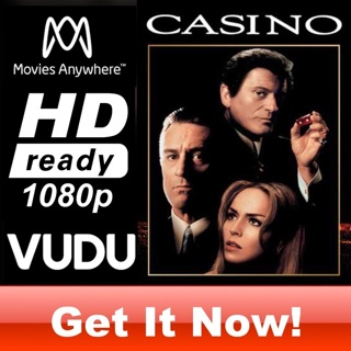 CASINO HD MOVIES ANYWHERE OR VUDU CODE ONLY