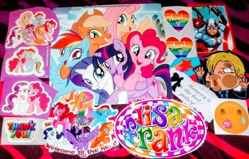 35pc. -MYSTERY- Stickers! #2