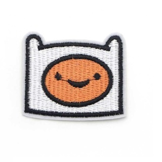 1 Adventure Time patches Finn Head FINN JAKE the Vampire Space costume clothing accessories