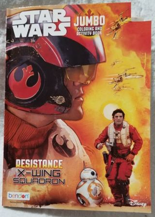 Star Wars Jumbo Coloring and Activity Book