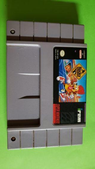 """""""RARE"""" Super Nintendo Game """"Rocky Rodent"""""""