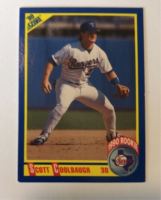 Scott Coolbaugh Rookie Card 1990 Score