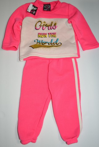 Red Love Girls Jogging Suit Outfit Size 6/9 Months New With Tags!