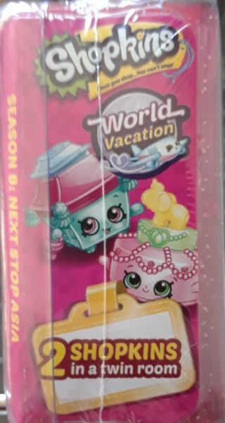 New! Shopkins World Vacation Season 8: Next Stop Asia