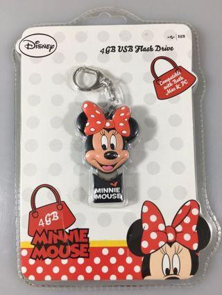 1 NEW Disney Minnie Mouse 4GB USB Flash Drive (18110-WLG) FREE SHIPPING