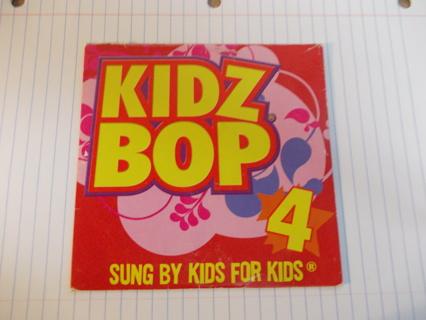 """KIDZ BOP 4"" CD with 5 Songs"