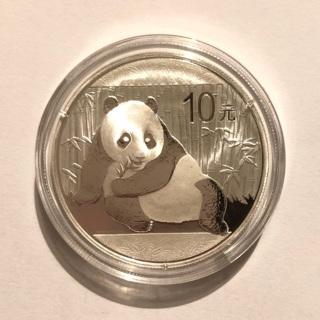 2015  China 1 Oz Silver Panda