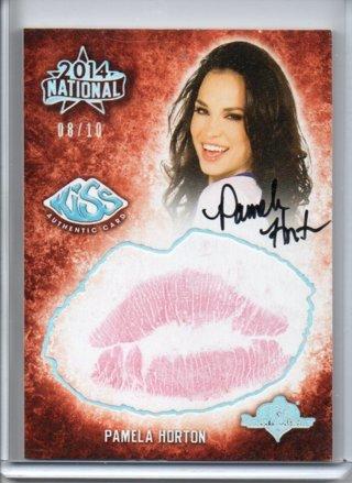 2014 Benchwarmer Pamela Horton National Kiss Autograph 8/10