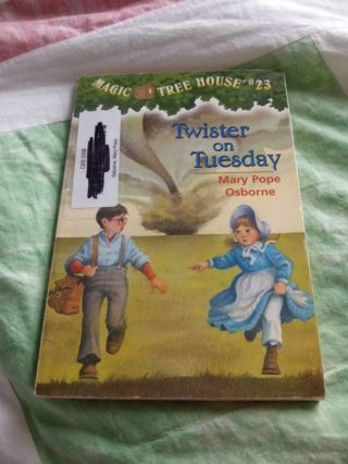 Magic Tree House Book #23 Twister on Tuesday