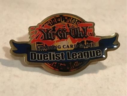 Metal Yu Gi Oh Pin 1996 Trading Card Game Duelist League