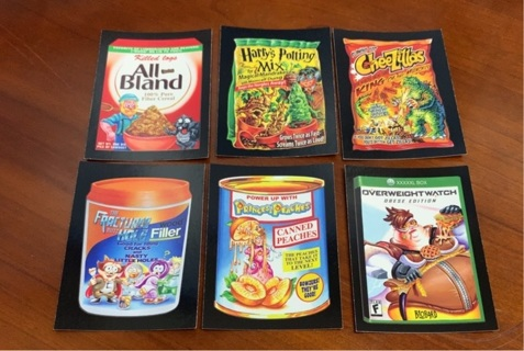 2017 Topps Wacky Packages 50th Anniversary lot