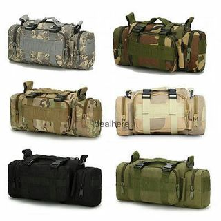 6L Military Tactical Outdoor Camping Hiking Backpack Shoulder Bag Waist Pack