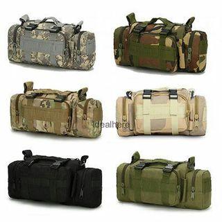 6L Military Tactical Outdoor Camping Hiking Backpack Shoulder Bag Waist Pack