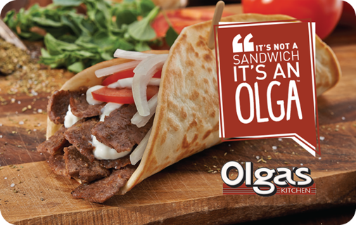 Olga's Kitchen $1000 Gift Card Codes