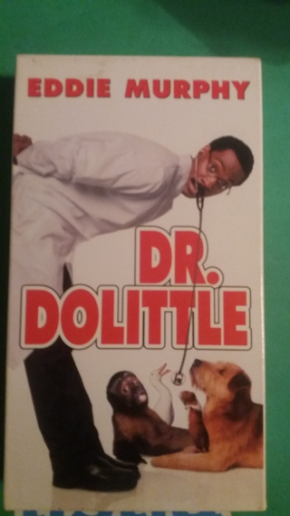 vhs dr dolittle free shipping