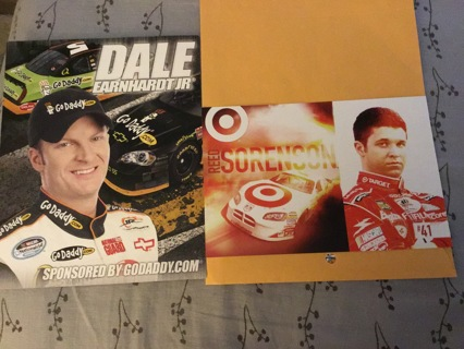 NASCAR Driver Cards & Mini Posters