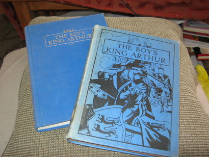 Lot 2 King Arthur Same Text Different Dates:  1929 & 1989
