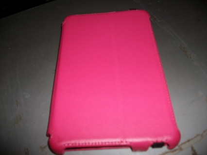 """Universal 7"""" Pink Tablet Case / used"""