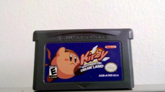 Kirby Nightmare in Dream Land    Nintendo GBA