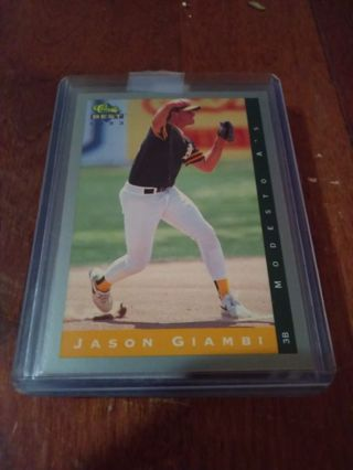 Jason giambi 1993