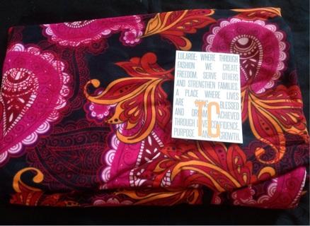 NWT TC Paisley HTF Unicorn Lularoe Leggings