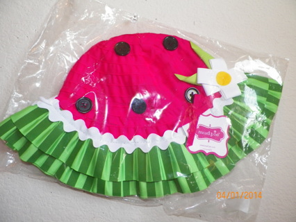 2f63daf5 Free: Mud Pie Baby Toddler Watermelon Sun Hat New With Tags One Size ...