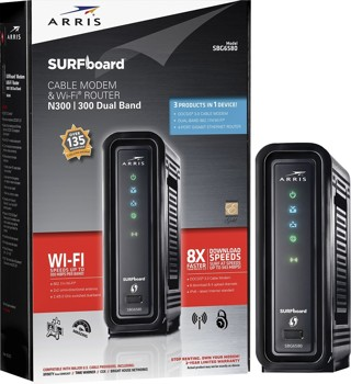 SBG6580 SURFboard® Cable Modem & Wi-Fi® Router