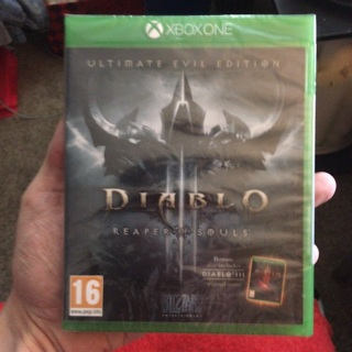 Xbox One Diablo 3 Reaper of Souls BRAND NEW
