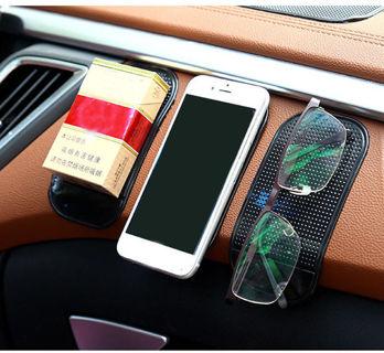 ♛ Black Anti Slip Car Dashboard Pad Sticky Holder Mat Phone MP3.