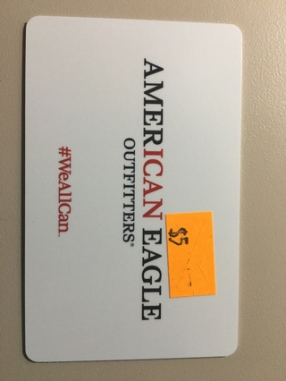 $5.00 American Eagle Outfitters Gift Card