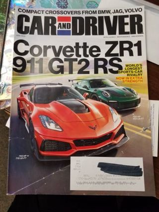 Car and Driver Magazine August 2018