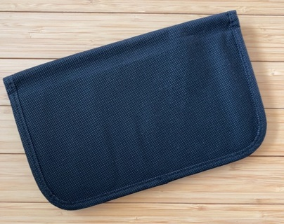 Fabric Glove Compartment Folder - NEW